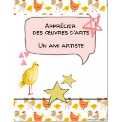 Apprécier des œuvres d'arts, projet d'élèves