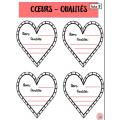 Activité ECR/St-Valentin (qualités/estime de soi)