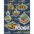 Agenda 2019-2020 (5 périodes)