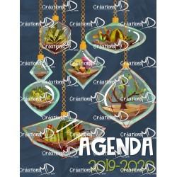 Agenda 2019-2020 (6 périodes)