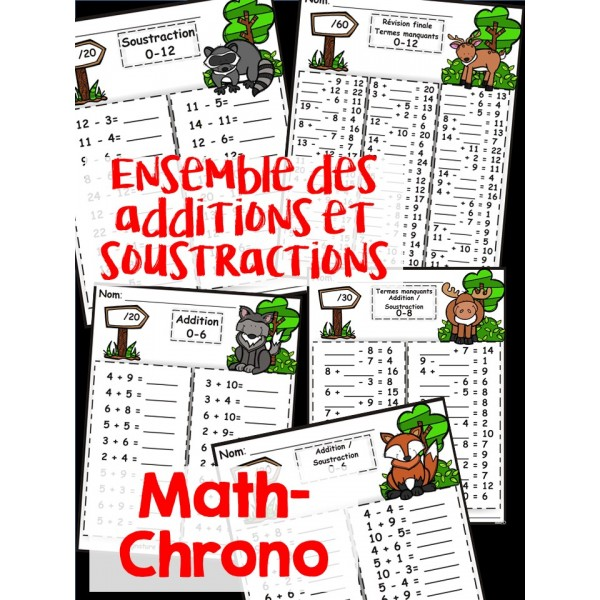 Math-Chrono Ensemble (+,-)