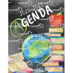 Agenda 20-21 (6 pér.) - RÉCRÉ PM