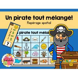 Un pirate tout mélangé!