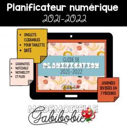 Guide de planification NUMÉRIQUE 2021-2022