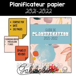 Guide de planification 2021-2022 - Préscolaire
