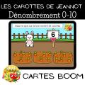 Les carottes de Jeannot - Boom cards
