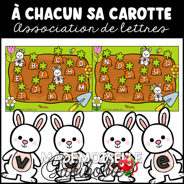 À Chacun sa carotte - Association de lettres
