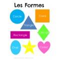 Affiche des formes