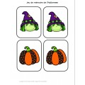Activités de l'Halloween pour le préscolaire