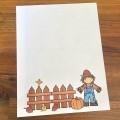 Papier à lettre de l'automne