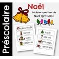Mots-étiquettes de Noêl