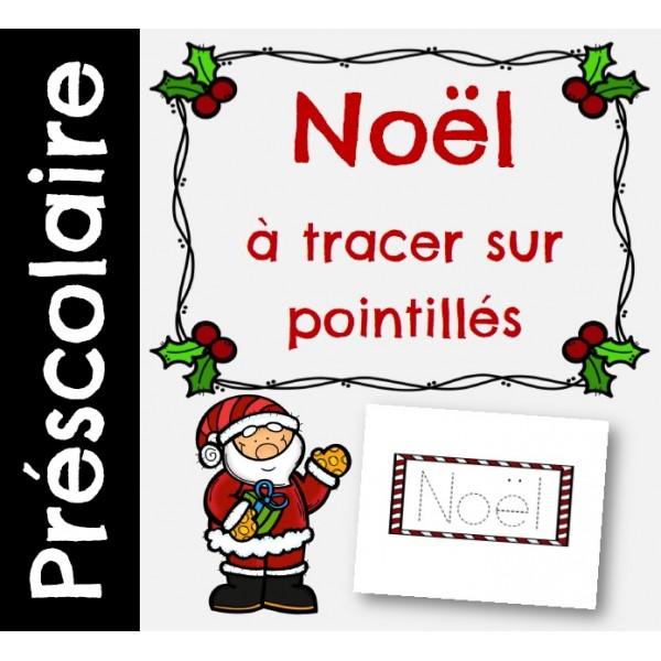 Tracer Noël sur pointillés