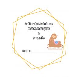 cahier problème mathématique 3e année