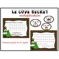 Atelier: multiplications de Noël