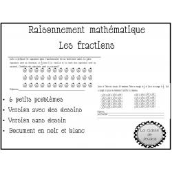 raisonnement mathématique Fraction