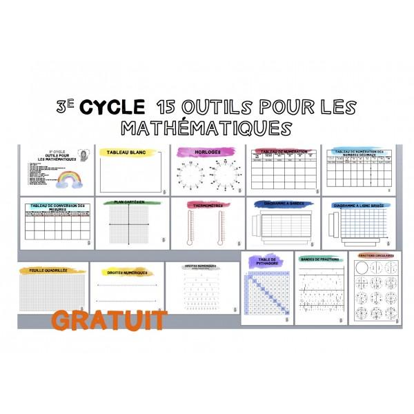 3e CYCLE  15 outils pour les mathématiques