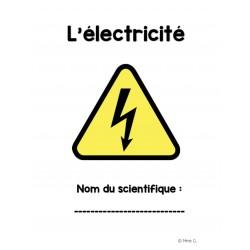Sciences - Projet électricité