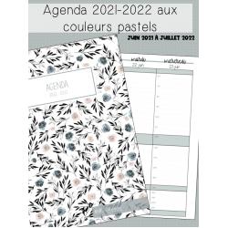 Agenda fleuri 2021-2022
