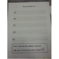 Mon premier cahier de calligraphie