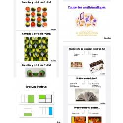 Ensemble causerie mathématique (Math talk)