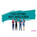 Affiches - Les métiers semi-spécialisés