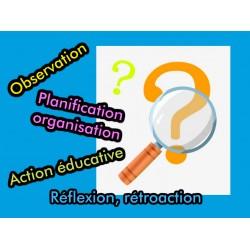 Outils d'observation, planification, rétroaction