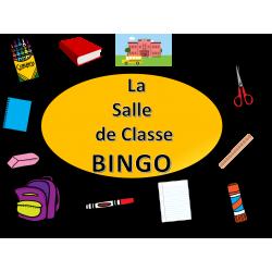 La Salle de Classe BINGO