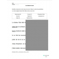 Exercice d'identification des classes de mots