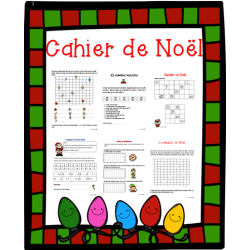 Cahier de mathématique de Noël