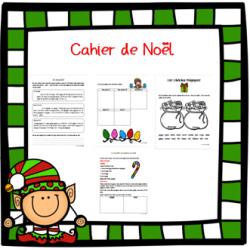Cahier de Noël de français