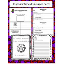 journal intime de mon super-héros