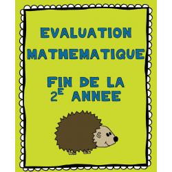 Évaluation mathématique fin de la deuxième année