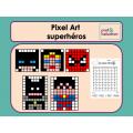 Pixel Art Superhéros