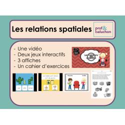 Les relations spatiales (vidéo, jeux et +)