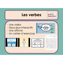 Les verbes (vidéo, jeux interactifs et +)