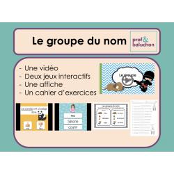 Le groupe du nom (vidéo, jeux interactifs et +)