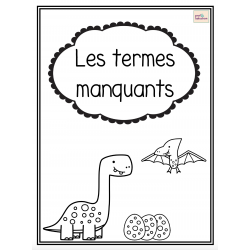 Terme manquant (cahier)