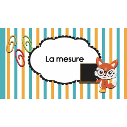 Vidéo « La mesure »