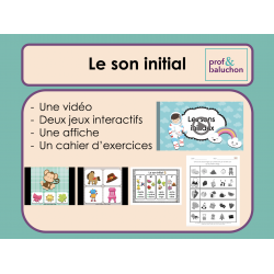 Le son initial (vidéo, jeux interactifs et +)