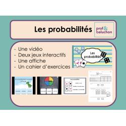 Les probabilités (vidéo, jeux interactifs et +)