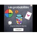 Les probabilités, jeu interactif