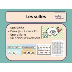 Les suites images (vidéo, jeux interactifs et +)