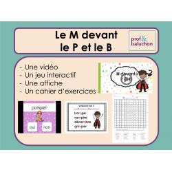 Le M devant le B et le P (vidéo, jeu et +)
