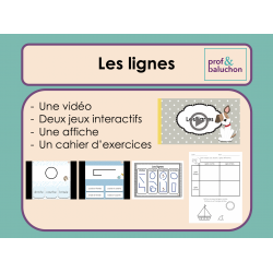 Les lignes (vidéo, jeux interactifs et +)