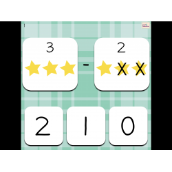 Soustractions simples (jeu interactif)