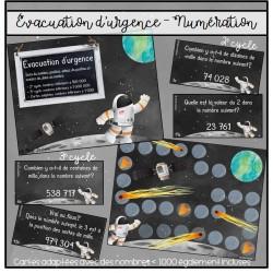 Évacuation d'urgence: numération