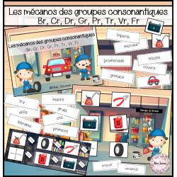 Les mécanos des groupes consonantiques
