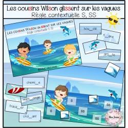 Les cousins Wilson glissent sur les vagues (S, SS)