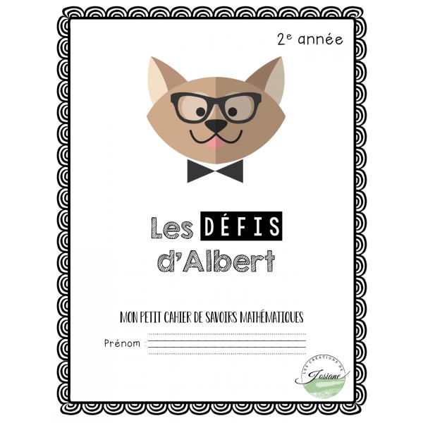 Les défis d'Albert 2e année