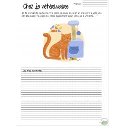 Écriture - Chez le vétérinaire